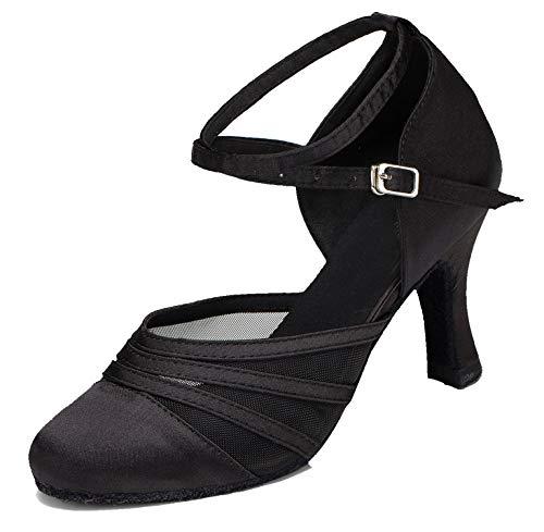 Minitoo ,  Damen Tanzschuhe , Schwarz - schwarz - Größe: 38