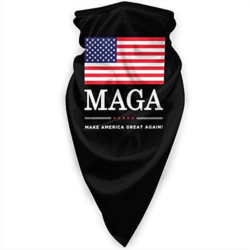 Zome Lag hoofddeksels, bivakmuts, outdoor-bandanas, uniseks halswarmer, multifunctionele hoofdband, maak je Amerika opnieuw geweldig met Usa Flag outdoor bandanas, gezichtsschaal, soft headwrap
