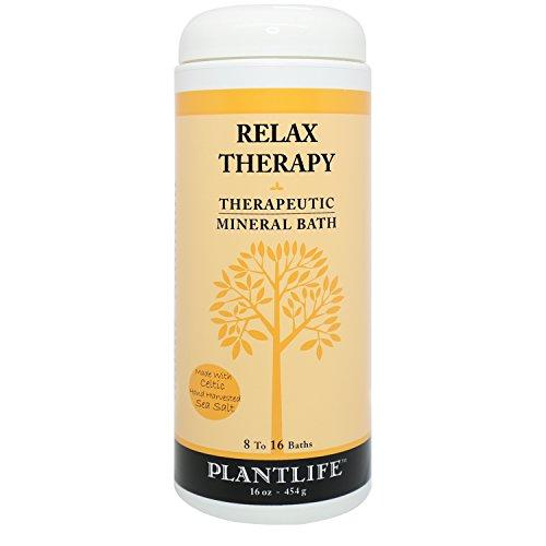 Relax Therapeutic Mineral Bath Salt - 16oz