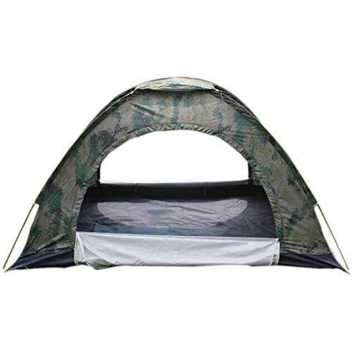 YYCHJU Tienda Camping al Aire Libre Tienda de campaña de Camuflaje, al Aire Libre Tienda de campaña, Doble, Tienda de campaña Impermeable, a Prueba de Lluvia Mosquito