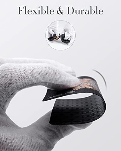 BIERDORF Diamond Waterproof Black Playing Cards, Poker Cards, HD, Deck of Cards (Black)
