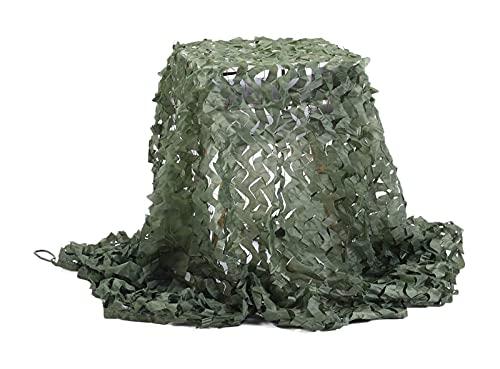 Ropa Militar Camo Netting Camuflage Net Ejército Malla Redes Ligero Peso Durable, Decoración de Sombrilla Caza Ciclismo Color Tiro Camping Jungle Fotografía, Decoración de Interior Net Red Camuflaje