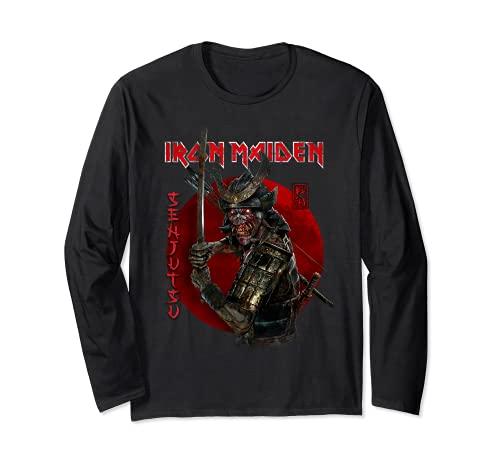 Iron Maiden - Senjutsu Eddie Red Circle Manga Larga