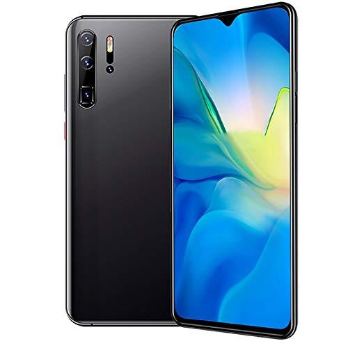 XIAOQIAO Smartphone P30 Pro Teléfono Móvil con Pantalla Grande, con Sistema Android 10.0, Compatible con Doble Nano SIM + Micro SD, con Exquisito Cuerpo metálico