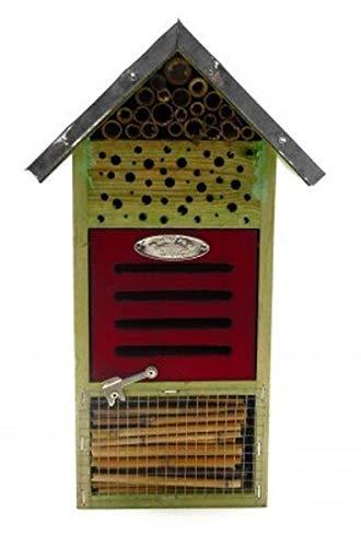 Insektenhotel Wildlife Insektenhaus Holz bunt