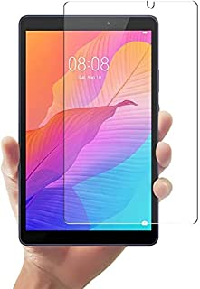 Al-HuTrusHi Huawei Matepad T8 8.0 inch Tempered Glass Film, 9H Hardness Explosion-Proof Anti-Fingerprint High Definition,A...