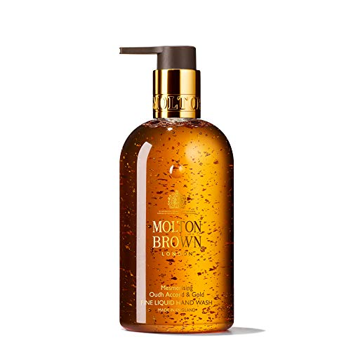 Molton Brown Mesmerising Oudh Accord & Gold Fine Liquid Hand Wash, 300 Ml