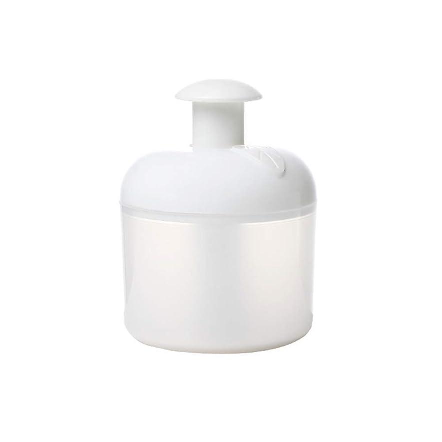 カフェ軽蔑物質Lurrose 洗顔泡立て器フェイスクレンザーバブルメーカー用フェイスウォッシュスキンケアトラベル家庭用(ホワイト)