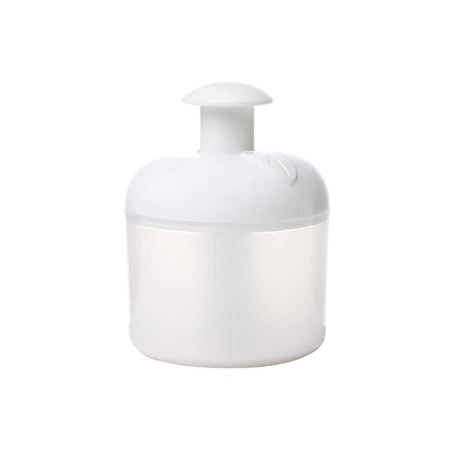 負荷この期待するLurrose 洗顔泡立て器フェイスクレンザーバブルメーカー用フェイスウォッシュスキンケアトラベル家庭用(ホワイト)