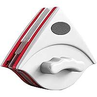 EasyULT Limpiador de Ventanas de Doble Cara con Superficie Magnético, Cepillo de Limpieza de Vidrio de Doble Lado con Cuerda Anti-caída, para Ventanas de Gran Acristalamiento de 15-30mm de Grosor