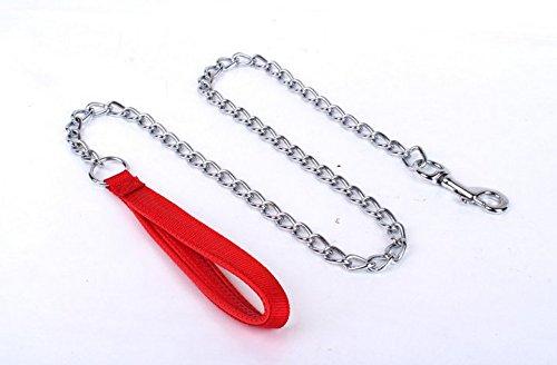 MASUNN Hond tractie groothandel huisdier tractie touw schuim handvat metalen ijzer hond ketting hond touw twist ketting huisdier tractie ketting