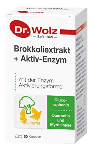 Dr. Wolz Wyciąg z brokuł + aktywny enzym, 175 g