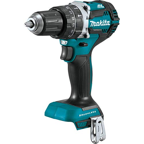Makita XPH12Z 18V LXT Lithium-Ion Brushless Cordless 1/2' Hammer Driver-Drill, Tool Only (Renewed)