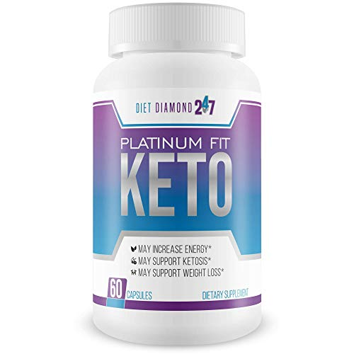 Platinum Fit Keto - Burn Fat Faster to Lose More Weight - Calcium BHB Accelerated Ketosis - Help Your Body Get Into Ketosis Faster So You Can Burn Fat Now