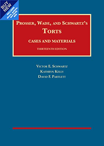 Torts, Cases and Materials – CasebookPlus (University Casebook Series)