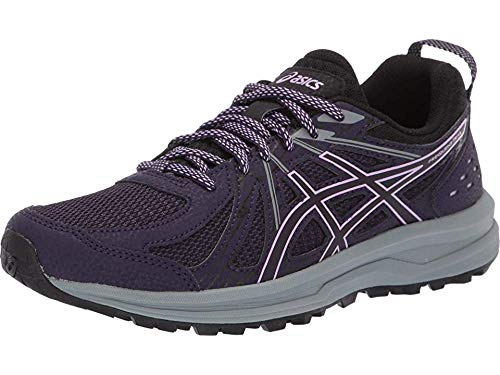 ASICS Frequent Trail Women's Running Shoe, Night Shade/Black, 7.5 B US
