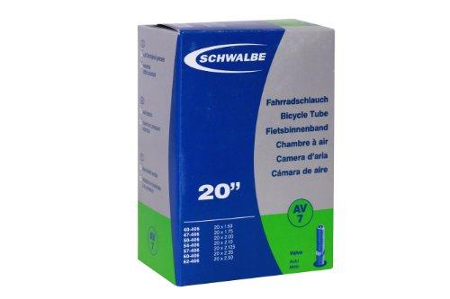 SCHWALBE Fahrradschlauch Schlauch Nr.7 20 Zoll (Ausführung: AV 7, 40mm)