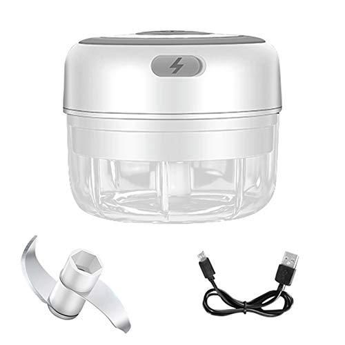 250ml / 150ml Mini alimento eléctrico Ajo Vegetal Chopper Grinder Triturador Prensa para tuercas Fruit Fruit USB Grindero de carne recargable Batidoras de vaso individuales (Color : 01)