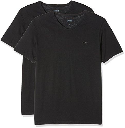 BOSS T-Shirt Vn 2p Camiseta, Negro (Black 001), XX-Large (Pack de 2) para Hombre