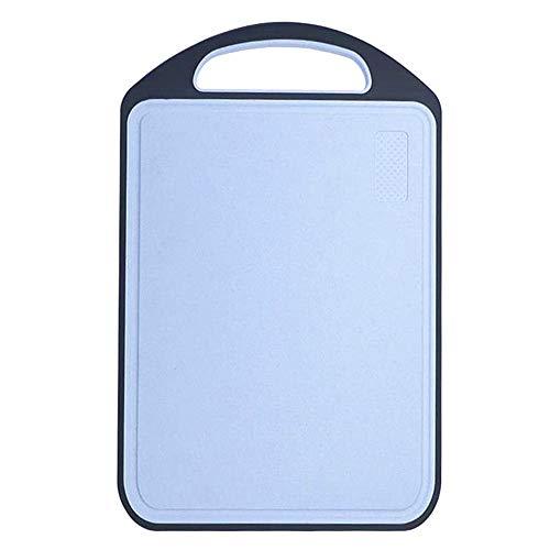 Tabla Cortar Cocina Tabla De Cortar Cocina Tabla de Cortar de plástico De plástico Tabla de Cortar Personalizado para Picar Junta Blue,One Size