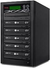 BestDuplicator 5 Target (1 to 5) 24X SATA DVD Duplicator Built-in LG Burner DVD Burner..