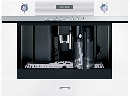 Smeg CMSC451B Einbau-Kaffeevollautomat, weiß