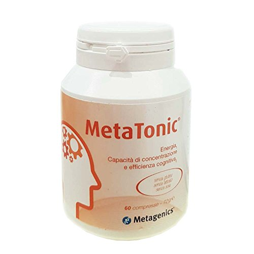 Metagenics Integratore Alimentare Metatonic, 60 Compresse