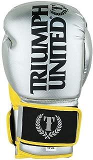 Triumph United TBC Glove Silver/Yellow - 16 OZ