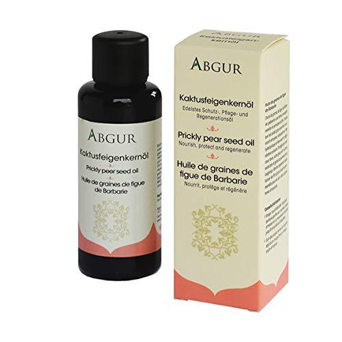 Kaktusfeigenkernöl Kaltgepresst bio, 100% reines Öl mit Anti-Aging-Effekt für Gesicht, dekoltee und Nägel 50 ml