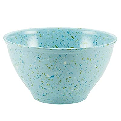 Rachael Ray Accessories Kitchen Pantryware Multi Purpose/Salad Serveware/Melamine Garbage Bowl, Agave Blue