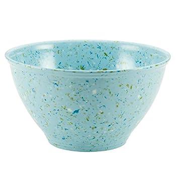 Rachael Ray Accessories Kitchen Pantryware Multi Purpose/Salad Serveware/Melamine Garbage Bowl Agave Blue