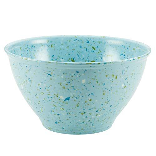 Rachael Ray Kitchenware Garbage Bowl, Light Blue