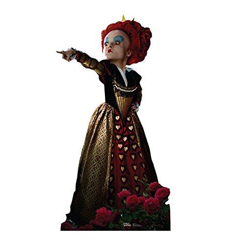 Red Queen Alice in Wonderland Cardboard Stand-Up