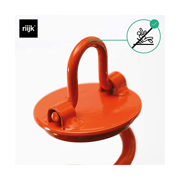 riijk Strong 1cm Ø Steel Ground Anchor | Perfect for Leashing the Dog | For Trampoline and Swing | + Screw-In Aid | For…