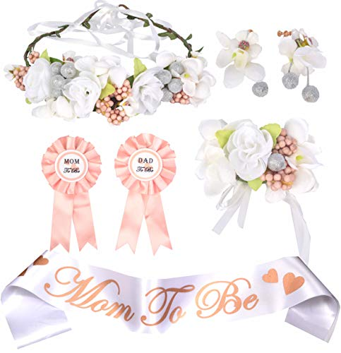 Mother to Be Flower Crown,Mom to Be Pin,Mom to Be Crown,Mother to Be Sash Baby Shower,Sash for Baby Shower,Mom to Be Sash, Baby Shower Sash,Mom to Be Ribbon,Mommy to Be Sash,Mom to be and Dad to Be