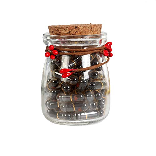 DIY Love Letter Capsules Letters Message Lover Confession Capsule Wishing Bottle for Valentine's Day...