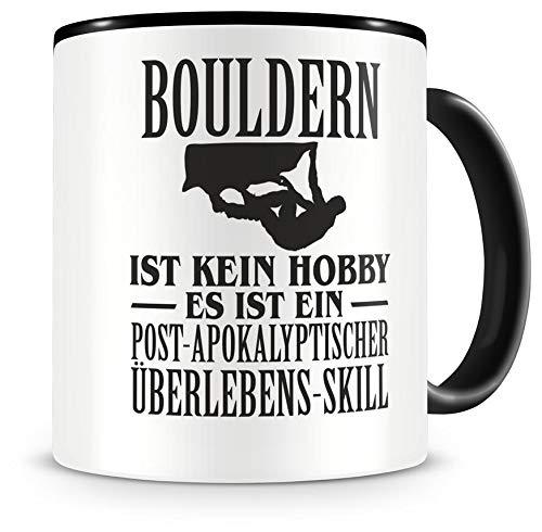 Samunshi® Bouldern ist kein Hobby Tasse Kaffeetasse Teetasse Kaffeepott Kaffeebecher Becher
