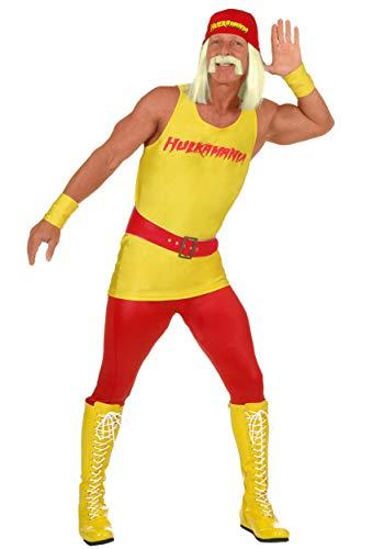 Disfraz de Hulk Hogan de talla grande 3X