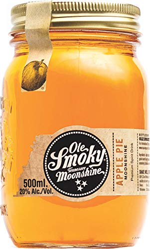 Ole Smoky Moonshine Apple Pie Whiskey Whisky  (1 x 0.5 l)