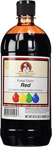 Liquid Red Food Color 32 OZ 1 Quart