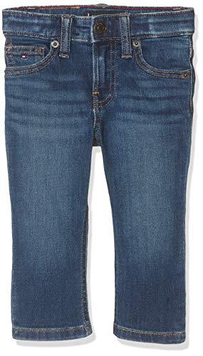 Tommy Hilfiger 1985 Straight Mmst Jeans, Azul (Denim 911), 86 para Bebés