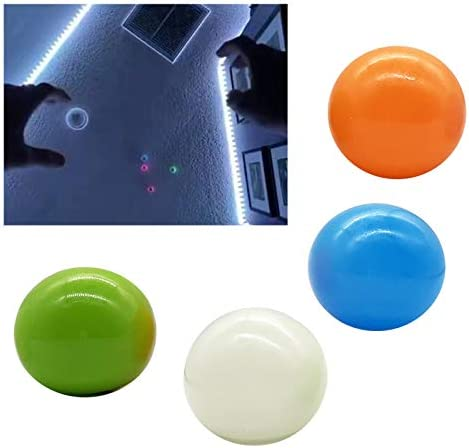 Luminescent Stress Relief Balls Stick to The Wall and Slowly Fall Off Tear Resistant Ceiling product image
