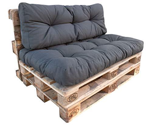 osoltus Palettenkissen Set Rückenkissen für Palettenmöbel Loungmöbel