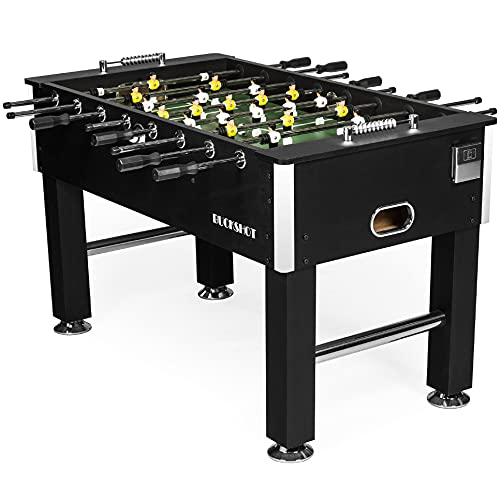 Baby Foot BuckShot Black - Table Soccer 141x77x89cm - Babyfoot 60kg -...