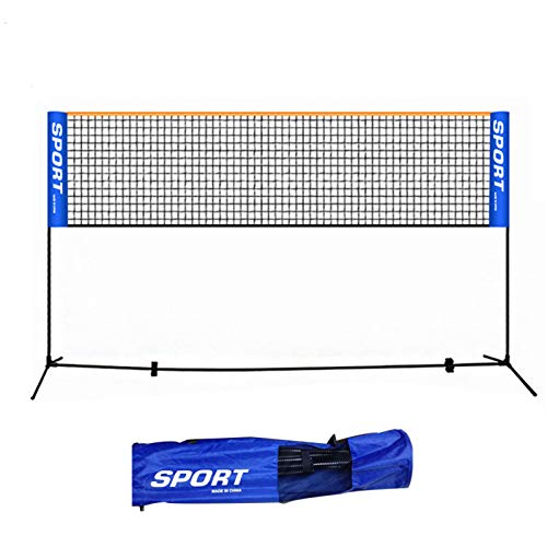 ULTPEAK 6,1 m x 0,75 m professionelles Badmintonnetz, für Outdoor-Tennis, Volleyball-Netz