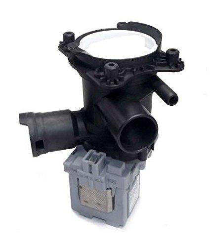 daniplus© Laugenpumpe, Ablaufpumpe, Magnettechnikpumpe mit Pumpenstutzen und Filter passend wie Bosch Siemens 145338, 144511, 144971, 145755