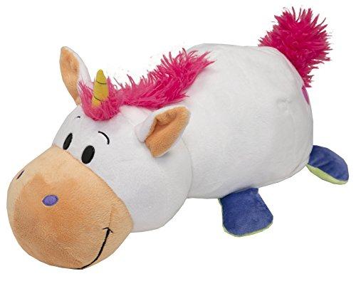 Vivid Imaginations Flip a Zoo - Peluche 2 en 1 Unicornio/