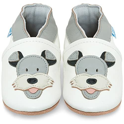 Juicy Bumbles Lauflernschuhe - Krabbelschuhe - Baby Schuhe - Duky Hund 2-3 Jahre (Größe 25/26)