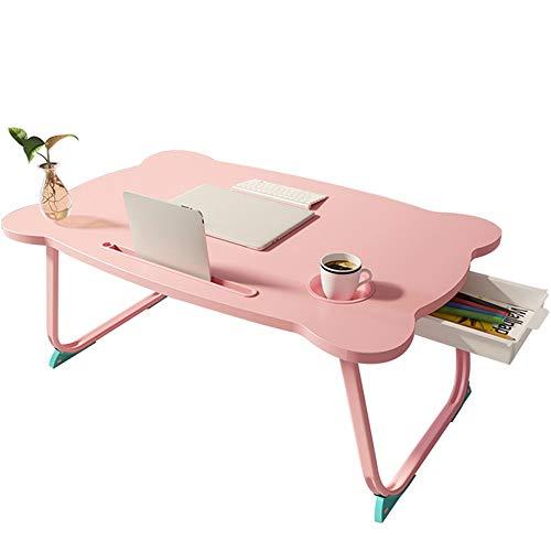 SVHK Cama pequeña escritorio de computadora de escritorio plegable simple dormitorio de la universidad Estudiante Litera superior Escritorio Ventana Bay dormitorio con ranura for tarjetas del sostened