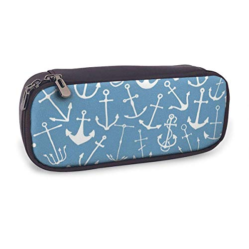 Pencil Case Pen Bag,Engraved Hand Drawn,Large Capacity Pen Case Pencil Bag Stationery Pouch Pencil Holder Pouch with Big Compartments